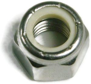 stainless steel nylon lock nuts