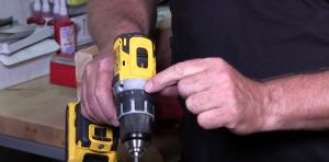 Drill Clutch Setting