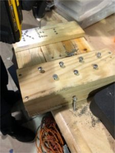 Driving Screws into Key Rack