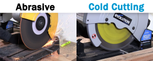 Abrasive Vs Cold Cutting Chop Saw Blades
