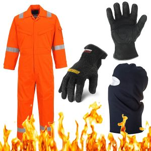 flame retardant clothing / safety gear