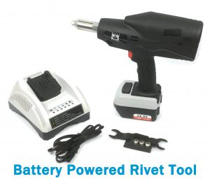 Battery Powered Rivet Tool