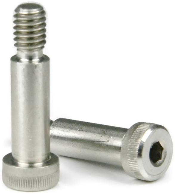 1//2-13 Thread 50 pcs Alloy Steel Shoulder Screws Hex Socket Drive 5//8 X 2