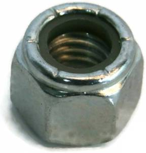 UNF Zinc Plated Steel Nyloc Nylon Lock Nuts