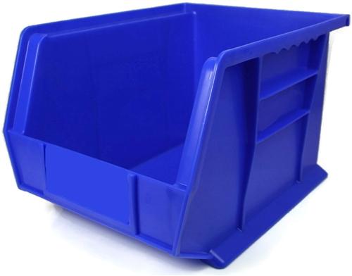 large plastic storage bins size l11 x w8 x h7
