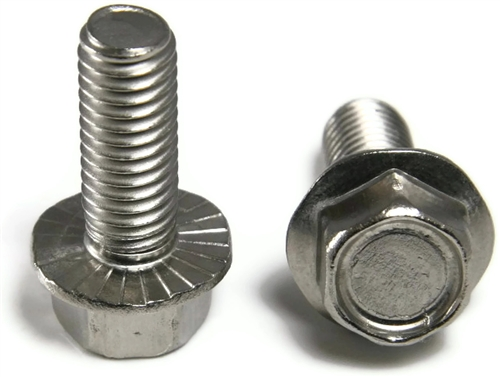 10 32 Stainless Steel Hex Serrated Flange Bolts