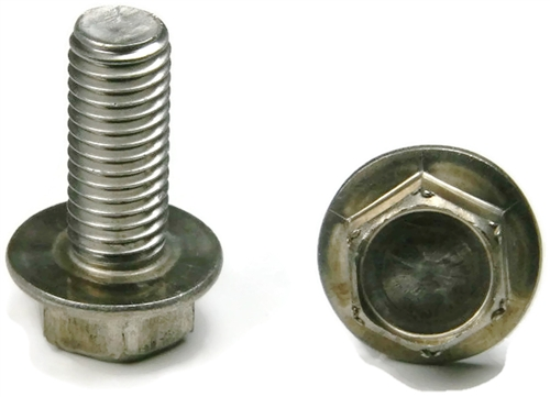 12 24 Stainless Steel Hex Serrated Flange Bolts