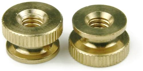 Brass Knurled Thumb Nuts