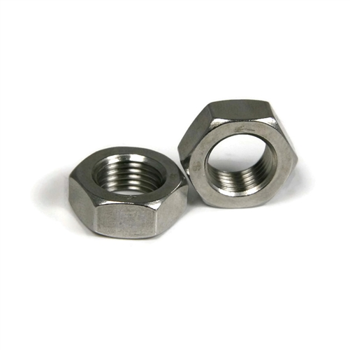 Stainless Steel Left Hand Thread Hex Jam Nuts