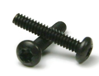 2 56 Black Stainless Steel Torx Pan Head Machine Screws