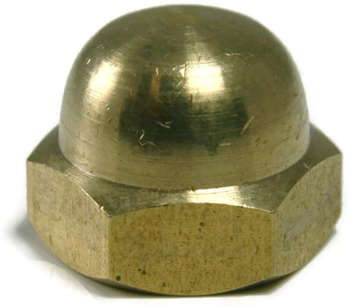 Acorn Nuts Solid Brass Cap Nuts