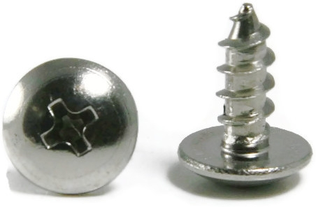 14 Phillips Truss Head Stainless Steel Sheet Metal Screws