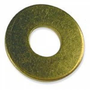 Qty 250 Brass Flat Washer 1//4 Small