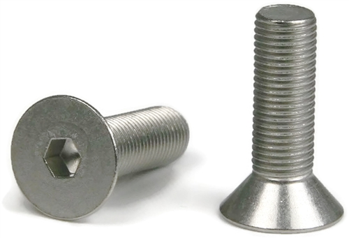 3 8 16 Stainless Steel Flat Socket Head Screws