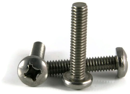 4 40 Stainless Steel Phillips Pan Head Machine Screws