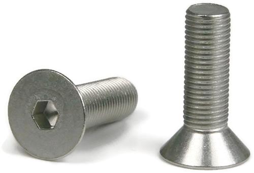 M10 X 1 5 Metric Stainless Steel Flat Socket Head Cap Screws