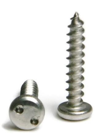 4 Spanner Snake Eye Pan Head Sheet Metal Security Screws