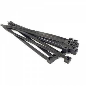 a21b8c380568 Heavy Duty UV Black Zip Ties | 120lb+ Test Cable Ties