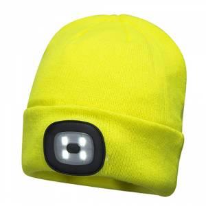 3977ff778 High Visibility Beanie With LED Head Light