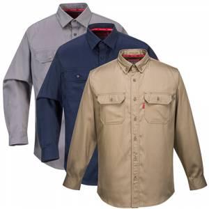 Portwest Bizflame Flame Resistant Lightweight 88//12 Shirt T-Shirt FR89