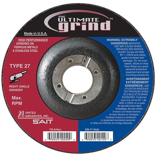 The Ultimate Grind Grinding Wheels
