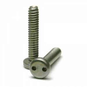 Stainless Steel Tamper Proof Security Button Head Screw 8//32 x 1 25//PCS