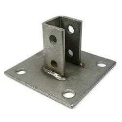 316 Stainless Steel Square Strut Post Base