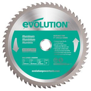 Circular Cutting Saw Blade 10 in 5200 RPM 52-Teeth Carbide Mild Steel