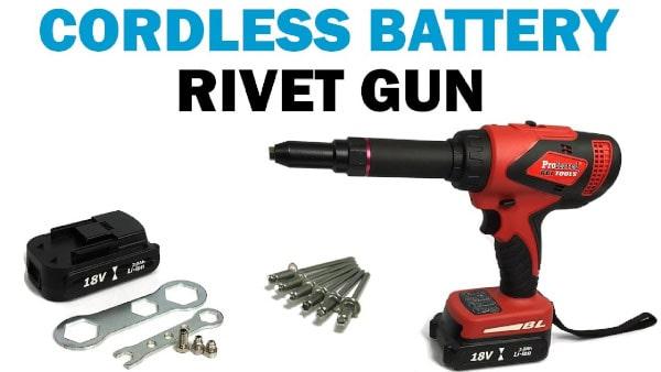 Rivet Gun Pop Riveter 60 Rivets Die Spanner 4 Size Nozzle