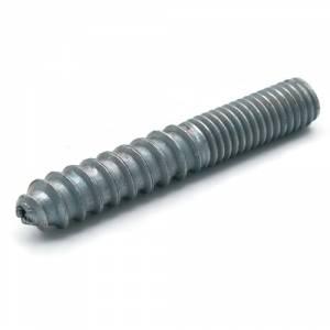8 32 Zinc Plated Steel Hanger Bolts