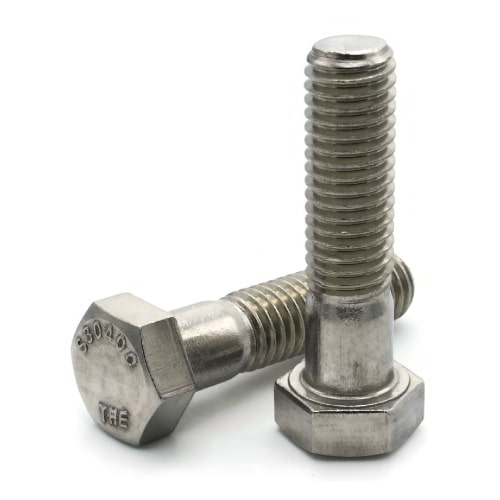 "5//8-11 x 5-1//2/"" Stainless Steel Hex Head Cap Screw Bolt"