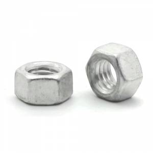 Hex Finish Nuts Aluminum