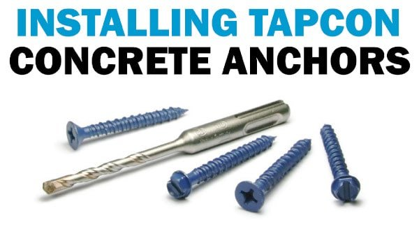 SCREWS Concrete Brick Marble Anchors All Lengths 10x SELF TAPPING MASONRY BOLT