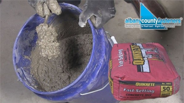 How to Mix Fast Setting Concrete | Albany County Fasteners