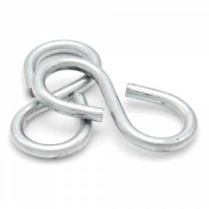 Closed Style S Hooks Zinc Plated Steel Inspired by professionals, but adapted for you. closed style s hooks zinc plated steel