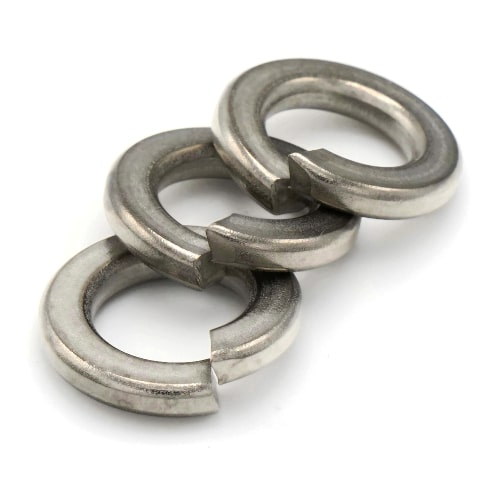 Spring Split Ring Stainless Steel Lock Washers