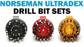 "Norseman Drill Bit CN TECH Jobber Length Cryo Drill Bits USA Made 3//32/"" QTY 2"