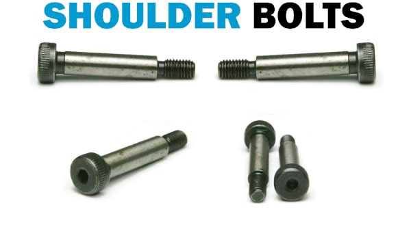 Knurled Shoulder Bolts Hex Socket Head - 18-8 Stainless Steel